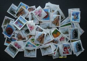 50-uncancelled-039-P-039-stamps-Off-Paper-No-Gum-Free-Shipping