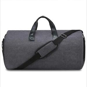 Folding-Suit-Bag-Clothes-Cover-Black-Garment-Bag-Handle-Business-Men-Travel-Bags