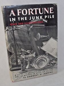 Fortune-Junk-Pile-Flea-Market-Guide-Antiques-Dorothy-Jenkins-Prices-History-1966