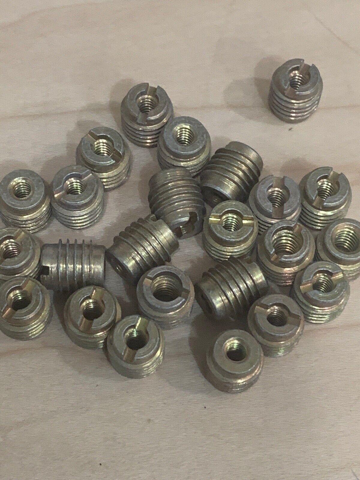 10X M6M8M10 Carbon Steel Hexagon Hex Socket Head Wood Furniture Insert Nut E-nut