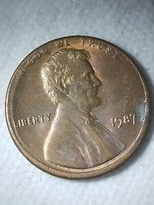 1987 P Penny Double Edge Rim Error Coin Ebay