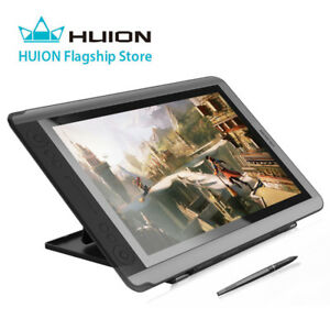 huion kamvas gt 156hd v2 8192 pen graphic drawing tablet monitor 14