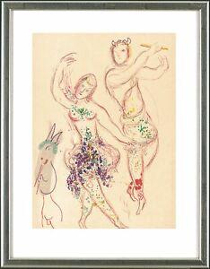 Marc-Chagall-1887-1985-Le-Ballet-1969-gerahmt