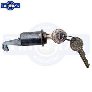 67-Camaro-66-67-Nova-64-Chevrolet-Glove-Box-Lock-amp-Key-Original-Key-Style-118A