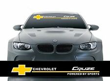 Front Windshield Banner Decal Car Stickers for Chevrolet CRUZE Auto accessories