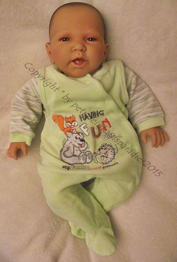 Doro Dolls Baby Bambola Stoffa Corpo  Rebecca  52cm vestito, gioco, BAMBOLA