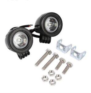 2x-LED-Auto-Arbeitsscheinwerfer-Scheinwerfer-Offroad-Work-Light-Lightbar-Weiss