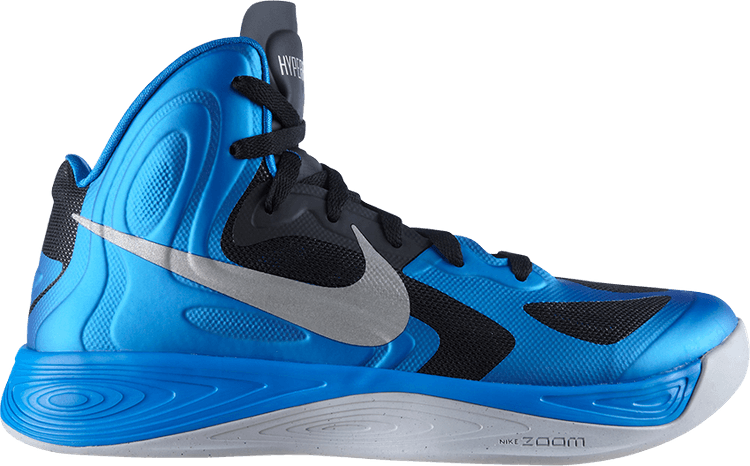 NIKE Hyperfuse High Basketballsneaker Blau Metallic Gr:47,5 US:13 Neu New