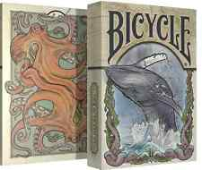 Bicycle playing cards (Sea Creatures) - Seven Seas Collection - New