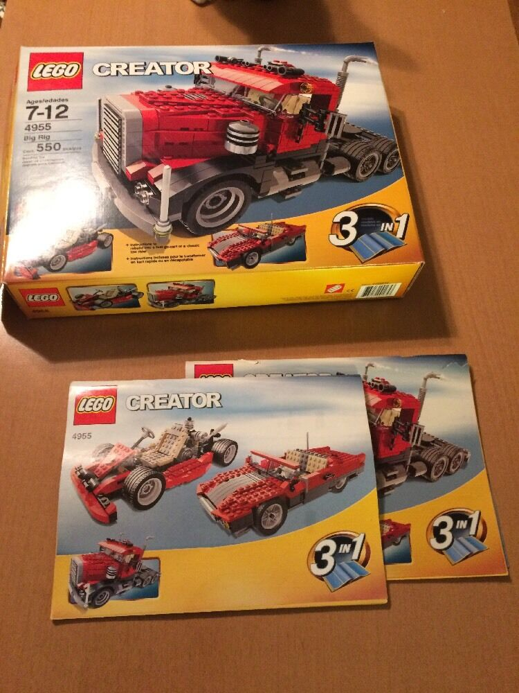 Lego Creator Big Rig Rig Rig 4955 (See Description) b38366