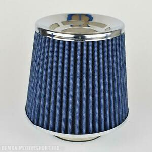 Universal-Performance-Air-Filter-Blue-For-63mm-2-5-034-Intake-Induction-Kit-39038