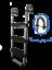 Trampoline-Ladder-3step-2step-Slide-or-Rock-Waller-Climber thumbnail 4