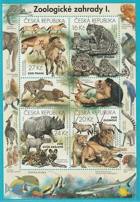 Professioneller Verkauf Tschechische Republik Aus 2016 ** Postfrisch Block 61 Zootiere Online Rabatt