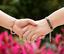 Coppia-Bracciale-Uomo-Braccialetto-Donna-Acciaio-Inox-Steel-Fidanzamento-Regalo miniatura 9