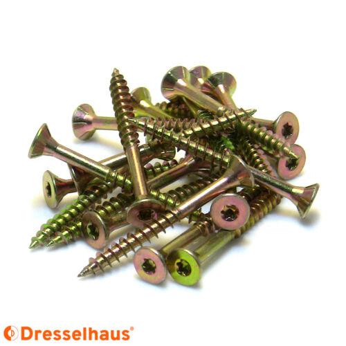Spanplattenschrauben JD79 Teilgewinde Torx alle Größen 3x30-6x200