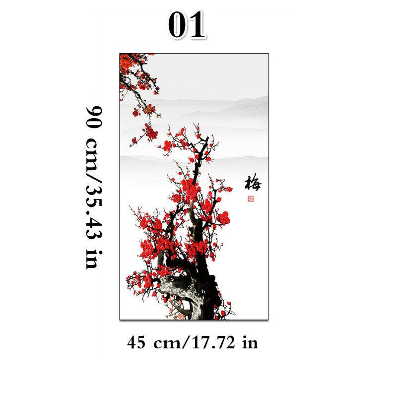 3D Blumenmuster Gefärbtes Glas Aufkleber Mattiert Static Fenster Films Opak Für