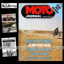MOTO JOURNAL N°480-b ★ YAMAHA SR 400 ★ PUCH 75 COBRA TT, RALLYE DE TUNISIE 1980