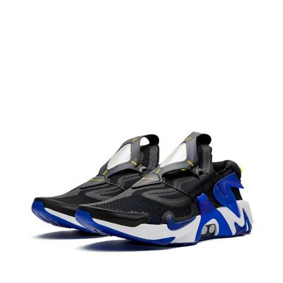 Nike Adapt Huarache Black Racer Blue Self Lacing Uk 8 Eu 42 5 Us 9 Rrp 799 99 Ebay