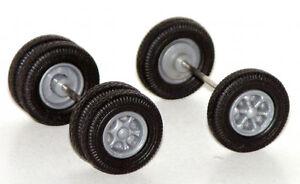 6 Spoke Wheels Front Rear For Promotex Herpa 1 87 Truck