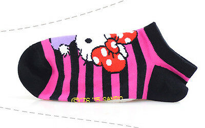 Girls Hello Kitty Cotton Trainer Liner Socks//fits age 9-11 year olds*