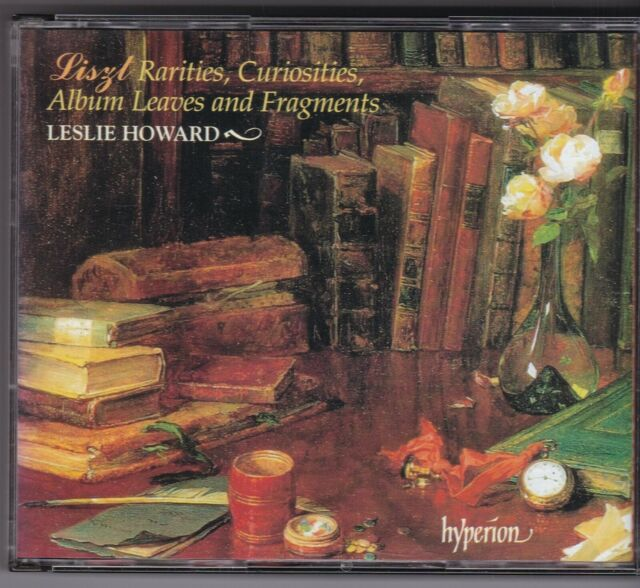 LESLIE HOWARD - LISZT - RARITIES,CURIOSITIES,ALBUM LEAVES AND FRAGMENTS - 4 CD'S