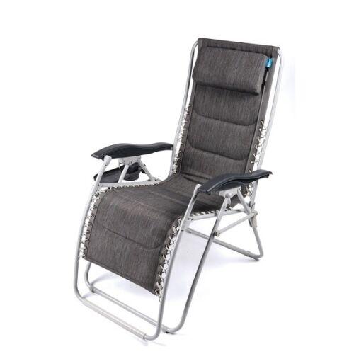 Kampa Opulence Modena Deluxe Relaxer Chair Ideal Motorhomes Caravan Camping