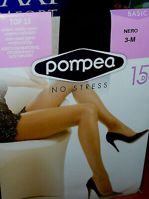 Collant donna POMPEA TOP 15 den opaco 3 PAIA