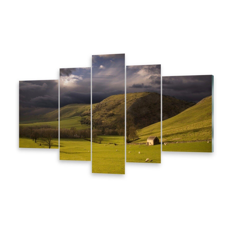 Mehrteilige Bilder Acrylglasbilder Wandbild Landschaft Peak