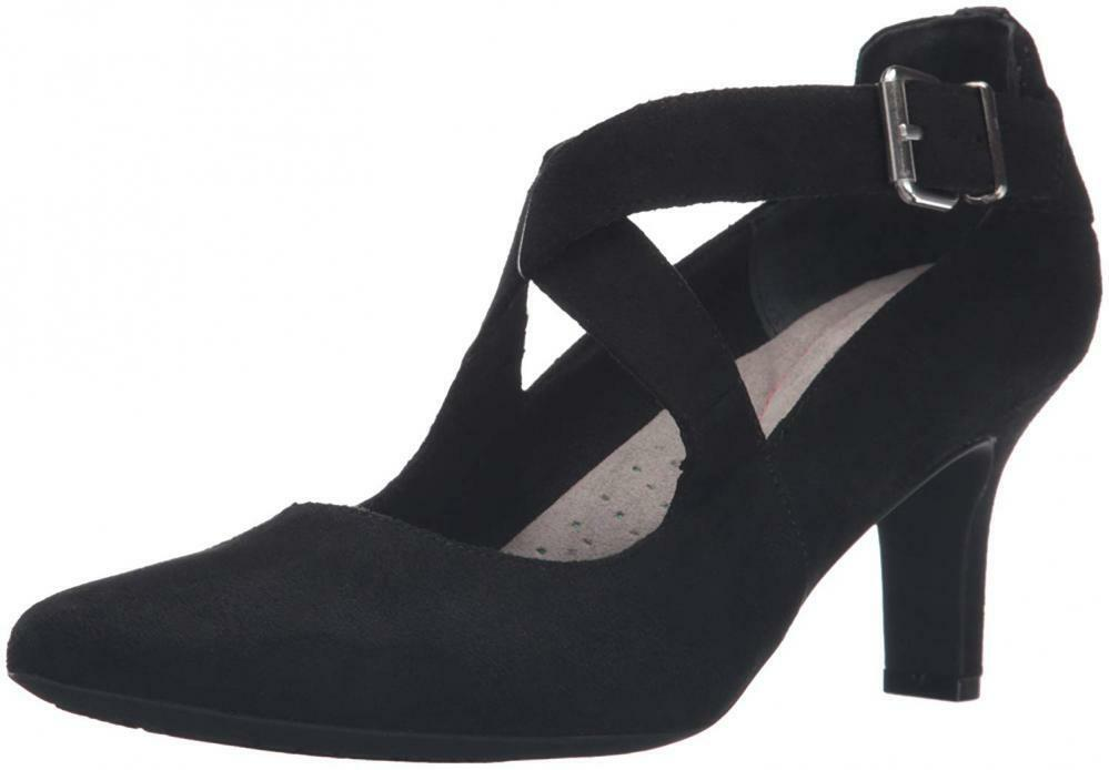 Rockport Wouomo Sharna Cross Strap Dress Pump Classic Sandal Comfort Walking