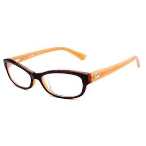 ef2e0c87874e GENUINE LACOSTE Optical Glasses Frame L2673 215 ORANGE HAVANA PN2353 ...