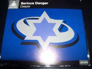 Serious-Danger-Deeper-Australian-Remixes-CD-Single-Like-New