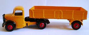 Dinky 409 Bedford Near Mint Camion articulé moulé sous pression dans sa boîte d'origine