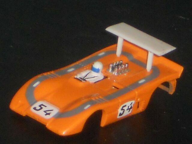 VINTAGE AURORA AFX AUTO WORLD MCLAREN XLR BODY N/O/S HO SLOT CAR