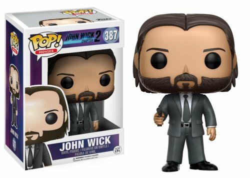 John Wick Chapitre 2-John Wick Vinyl Figure Avec Protecteur Funko POP Movies