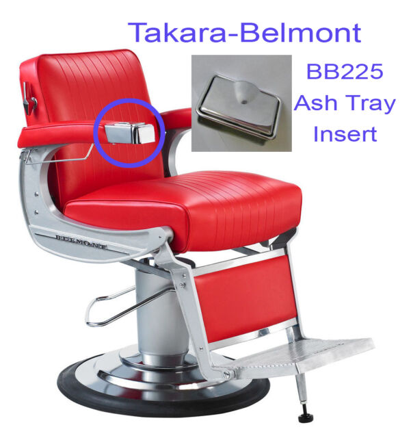 Groovy Takara Belmont Elegance Bb225 Barber Chair Ash Tray Insert Only Unemploymentrelief Wooden Chair Designs For Living Room Unemploymentrelieforg
