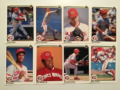 1989 Upper Deck Cincinnati RED/'S Team Set