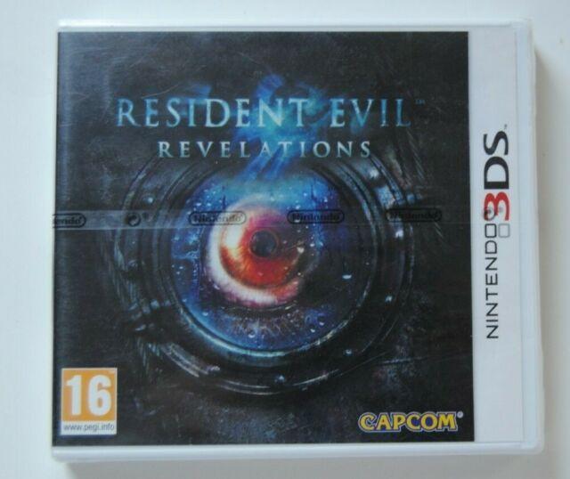 RESIDENT EVIL REVELATIONS CONSOLE NINTENDO 3DS NEW NEUF SCELLE