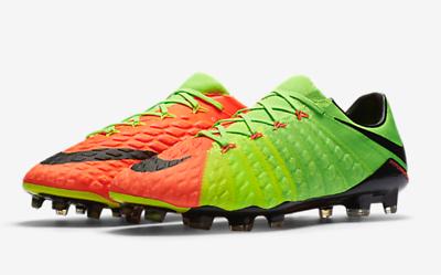 Buy Nike Hypervenom Phantom III FG Soccer Cleats 852567 308 Size 9.5 ... 14372daa2