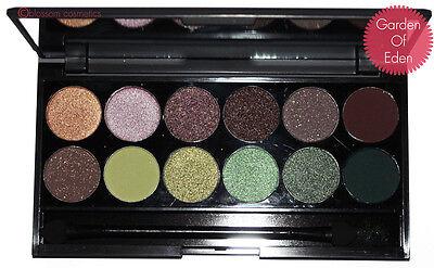 SLEEK MAKEUP I-Divine 12 Colours Eyeshadow Palette 100% GENUINE
