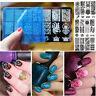 1x Uñas Clavo Sello Estampado Plantilla Placa Arte Imagen Impresión Nail Art Uña