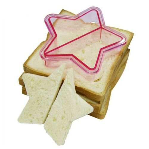 Sandwich Coupe-Pain Moules Enfants Déjeuner Gâteau ToastVoiture Dinosaure ELEPHANT COEUR