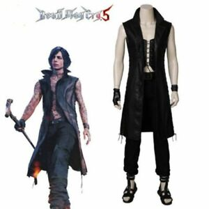 2da82d41a77 Details about Game Devil May Cry 5 V Cosplay Costume Vitale Cosplay jacket  Halloween Costumes、