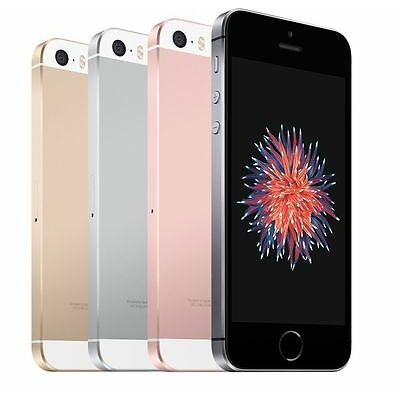BRAND NEW Apple iPhone SE 16GB (GSM Factory Unlocked) iOS Smartphone -All Colors