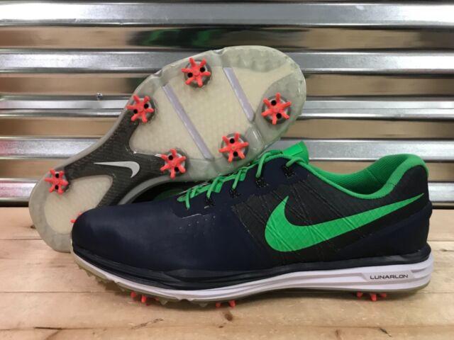 reputable site 705e2 c8277 Nike Lunar Control 3 iD Golf Shoes Navy Blue Green Gray SZ 14 ( 779822-991 )