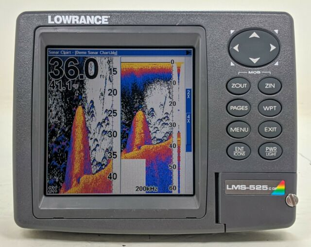 LOWRANCE LMS-527c DF Fish Finder