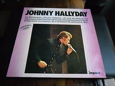 33 TOURS / LP--JOHNNY HALLYDAY--SERIE IMPACT / LE PENITENCIER