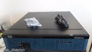 Details about Cisco 2951-CME-SRST/K9 GIGABIT VOICE ROUTER PVDM3-32 CME-12 0  ios-15 7 2951-V/K9