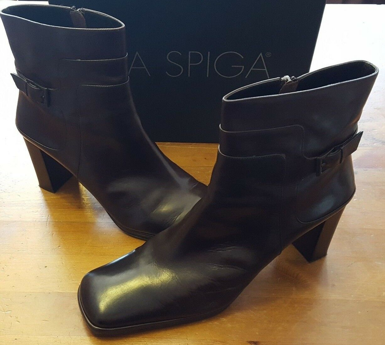 Via Spiga - Sperrin, Brown, Kerala Calf Leather, Ankle Boots (Size 10 B)