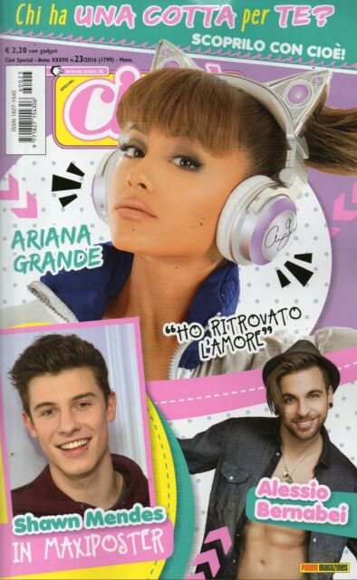 Cioè Special 2016 23#Ariana Grande,Fedez,Francesca Michielin,Zayn Malik