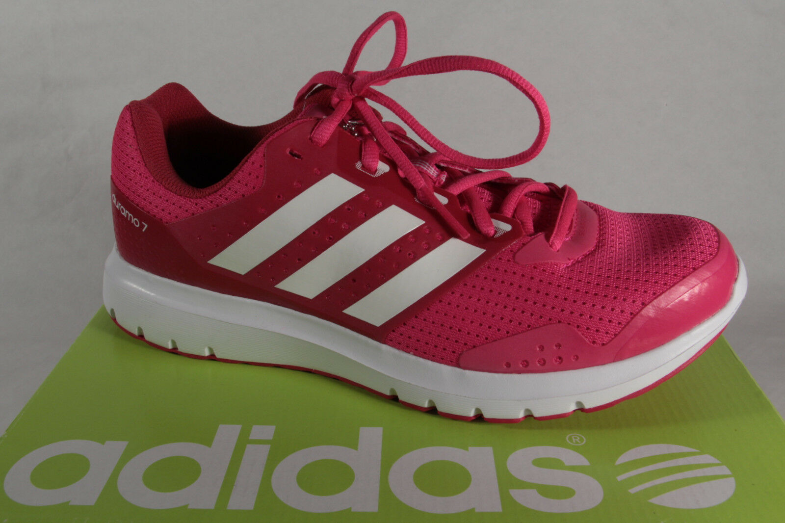Adidas Duramo  7 Pink Trainers AQ6502  low prices